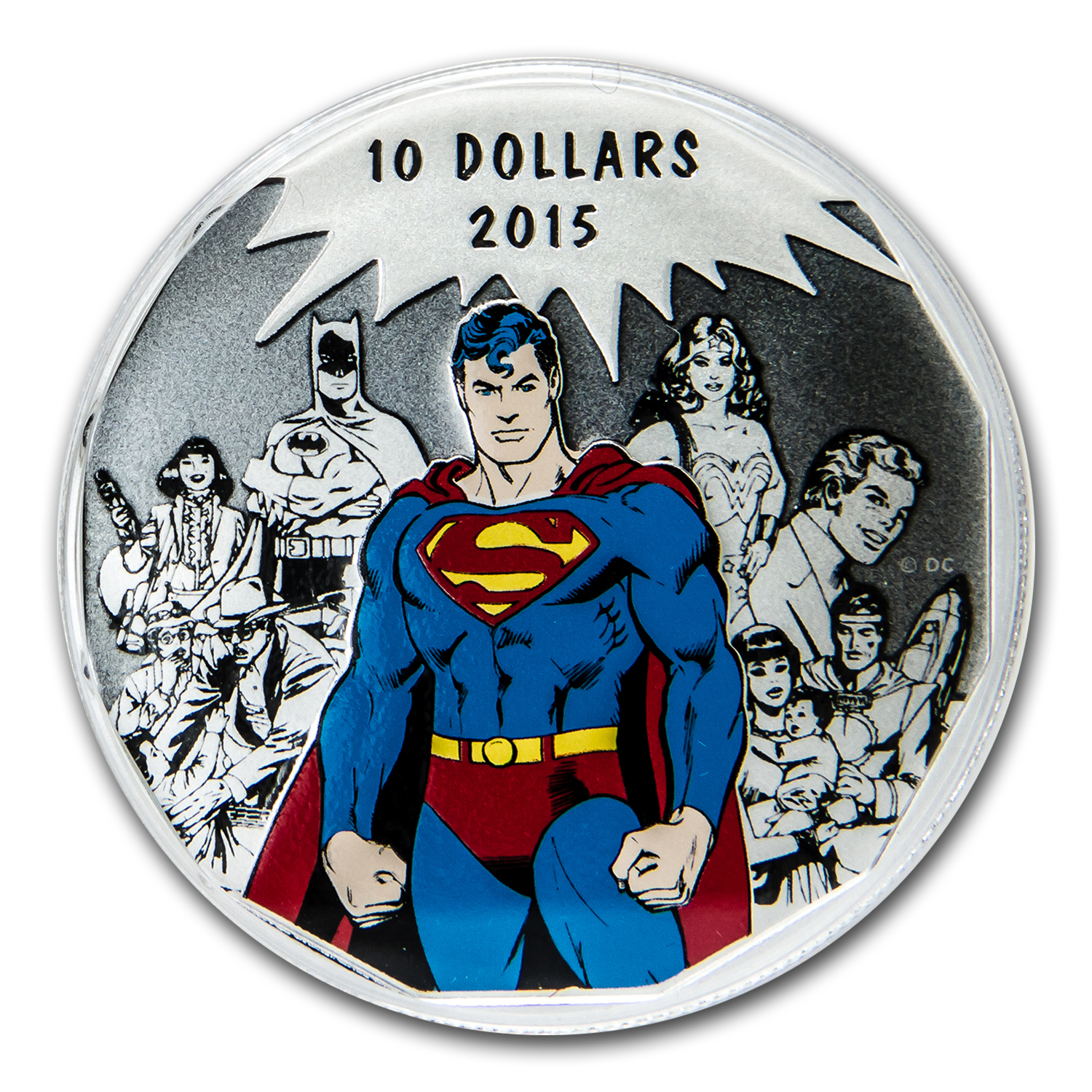 2015 Canada 1/2 oz Silver $10 DC Comics Originals: Legacy