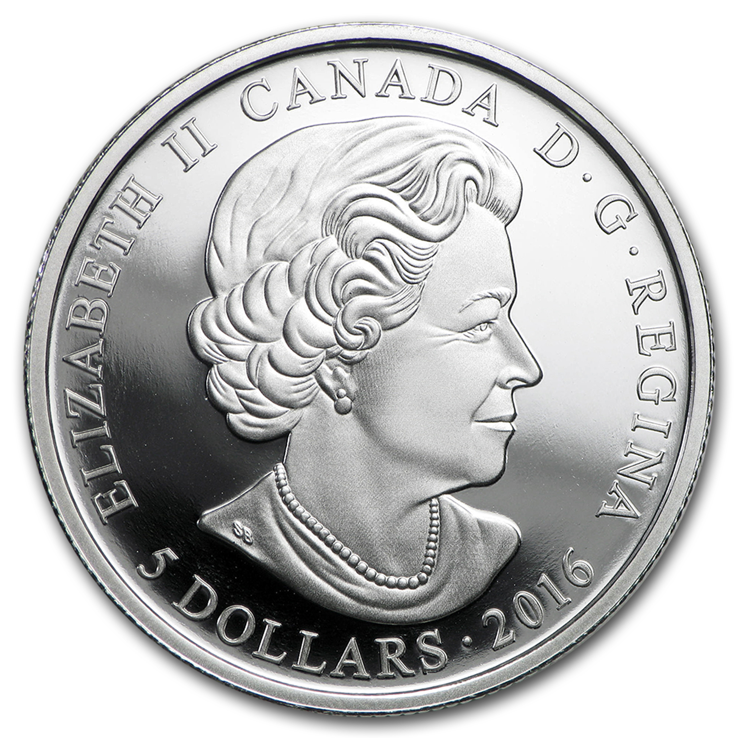 2016 Canada 1/4 oz Silver $5 Birthstones (January)