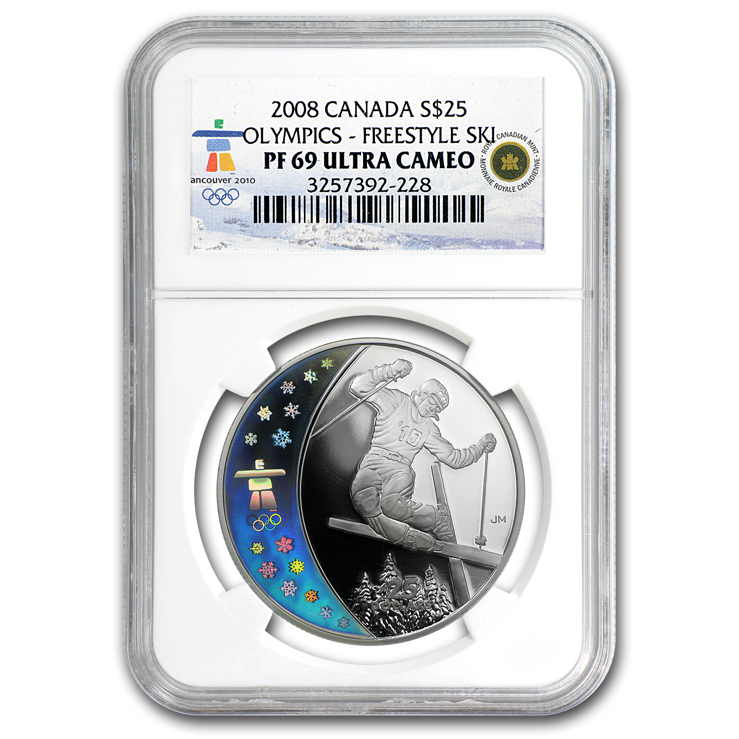 2008 Canada Ag & Au 8-Coin Set Home of 2010 Olympics PF-69 NGC