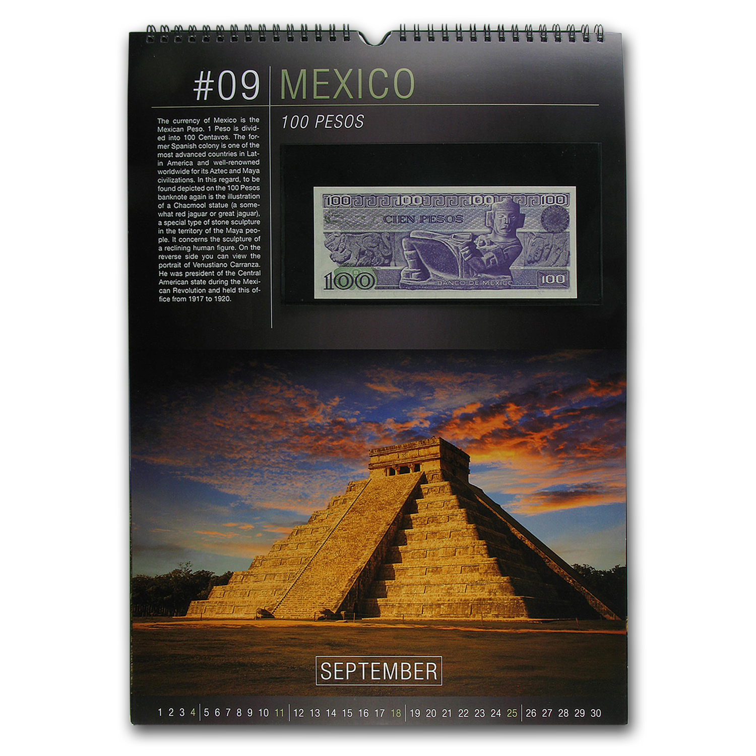 2016 World Numismatic Banknote Calendar