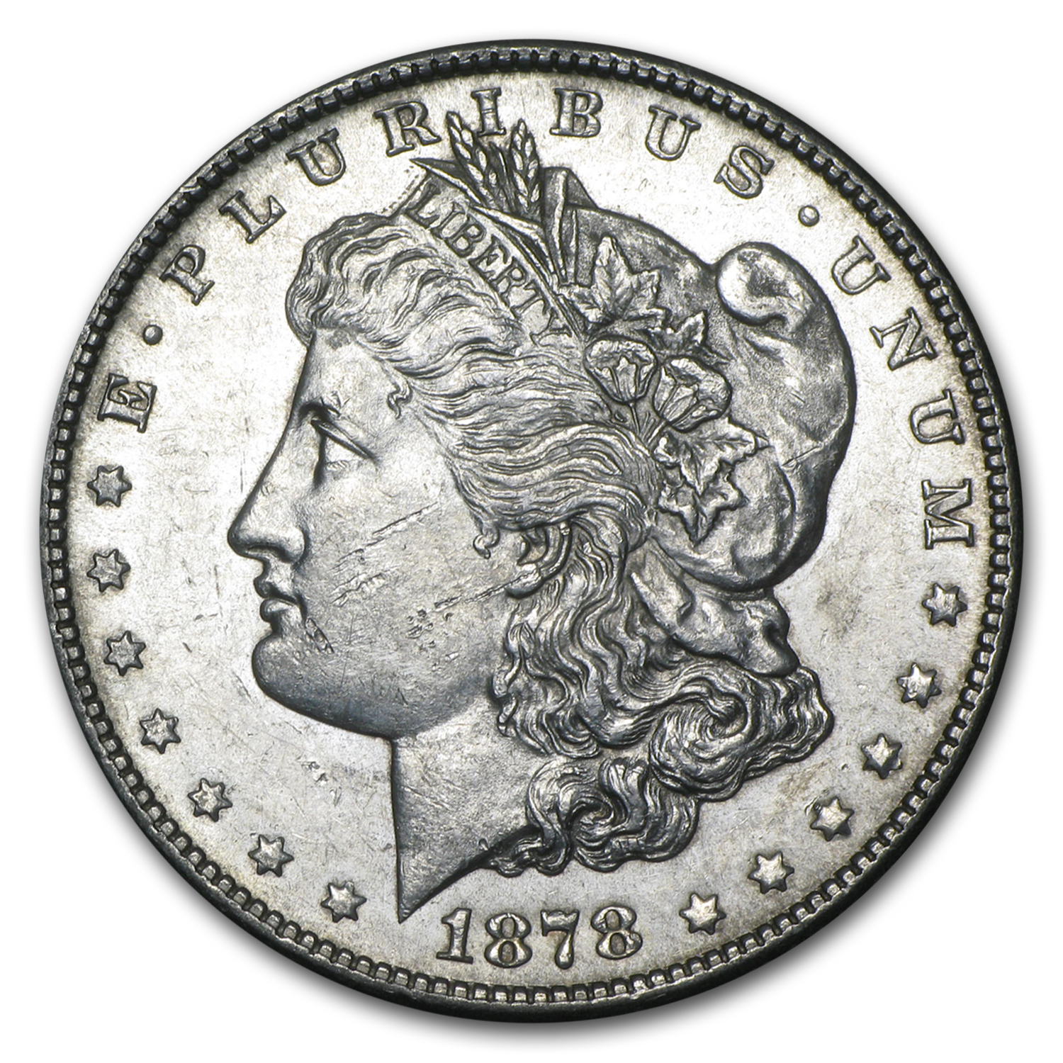 1878-S Morgan Dollar AU