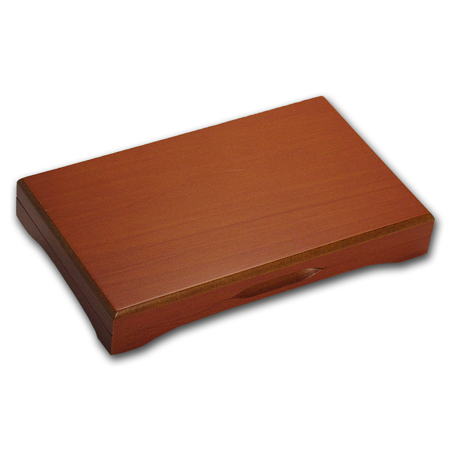 3-Coin Wood Presentation Box - Fits Up to 26 mm