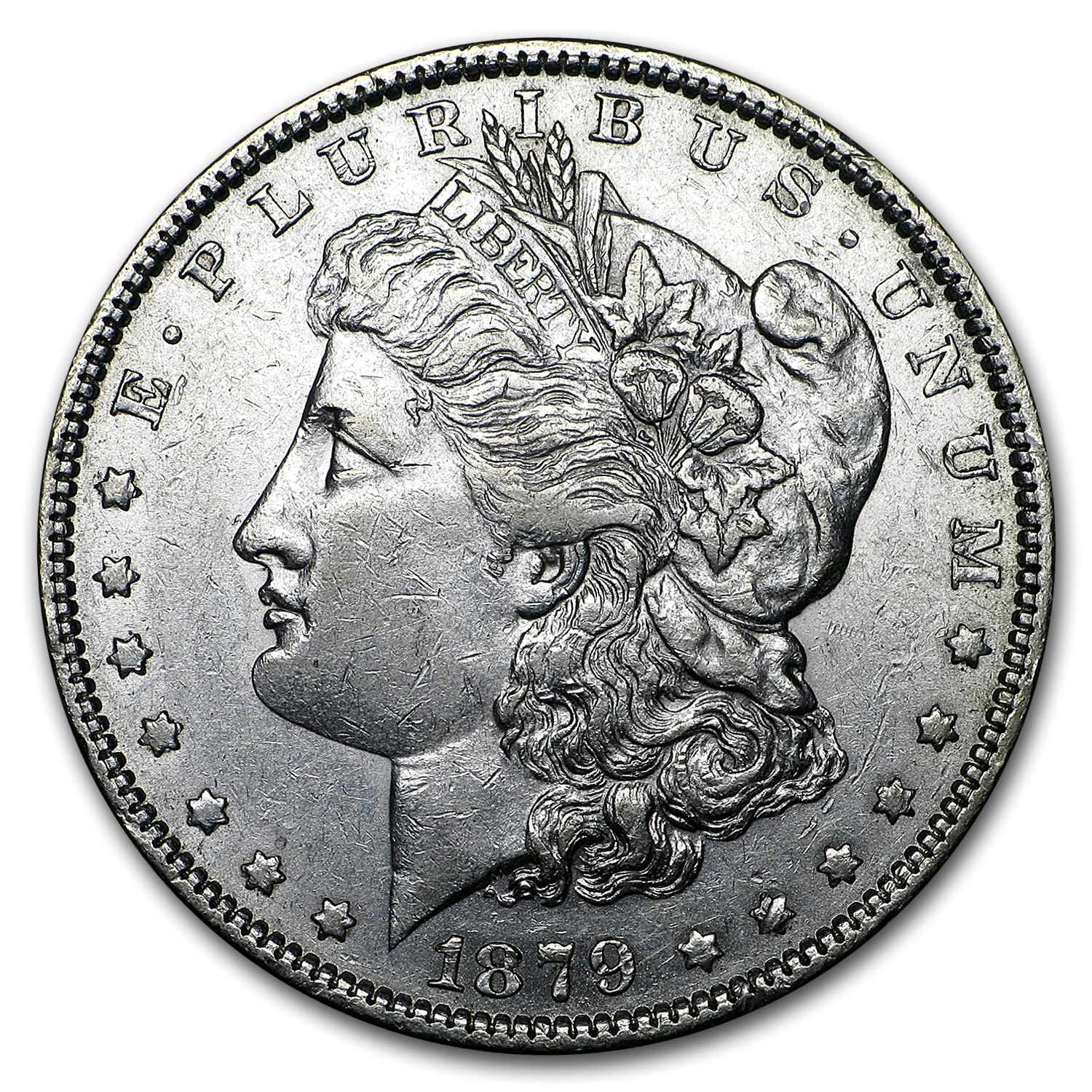 1879 Morgan Dollar AU