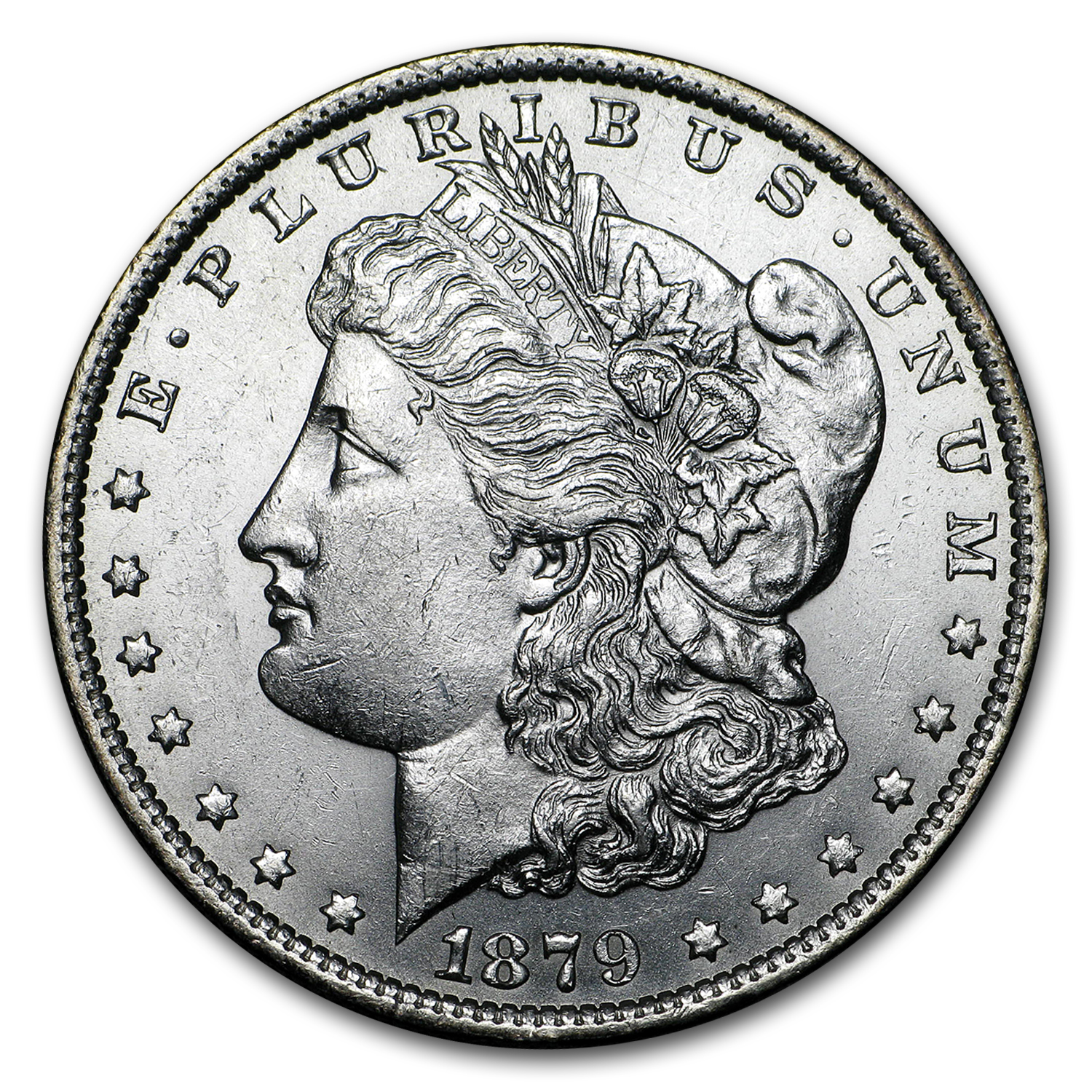 1879-O Morgan Dollar AU
