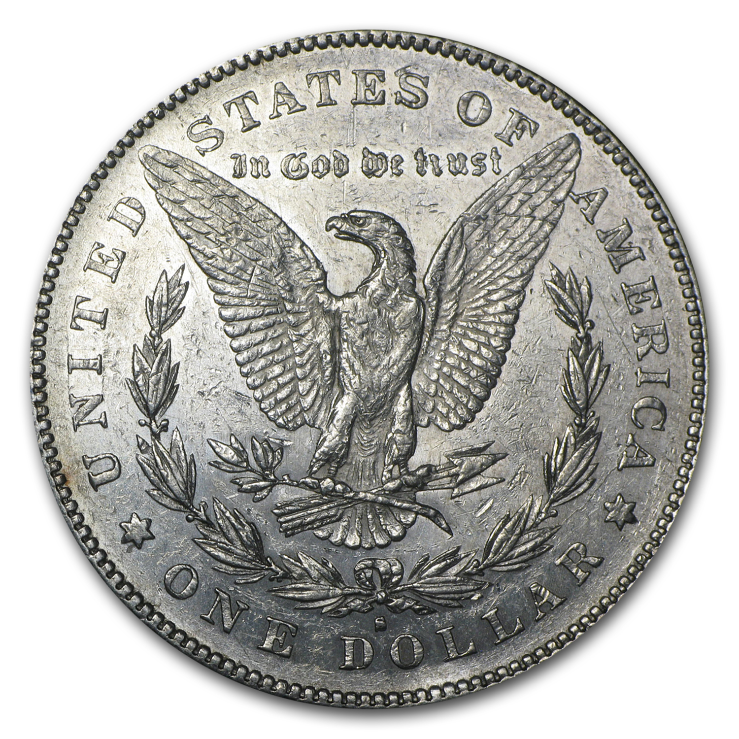 1879-S Morgan Dollar Rev of 78 AU
