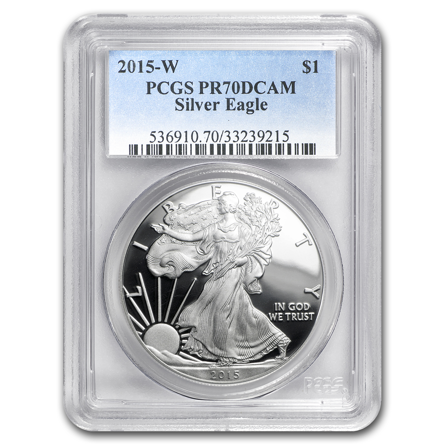 2015-W Proof Silver American Eagle PR-70 PCGS