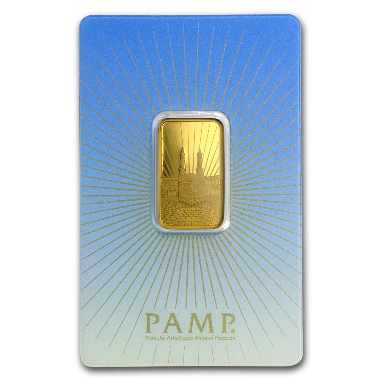 10 Gram Gold Bar Pamp Suisse Religious Series Ka Bah