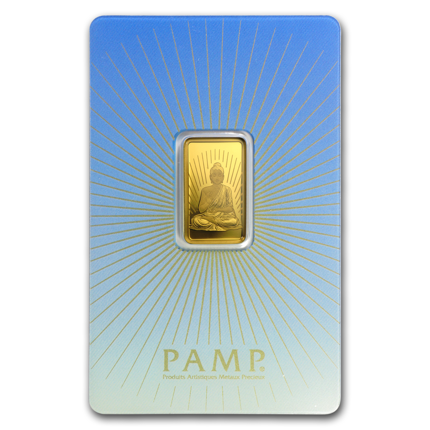 5 gram Gold Bar - PAMP Suisse Religious Series (Buddha)