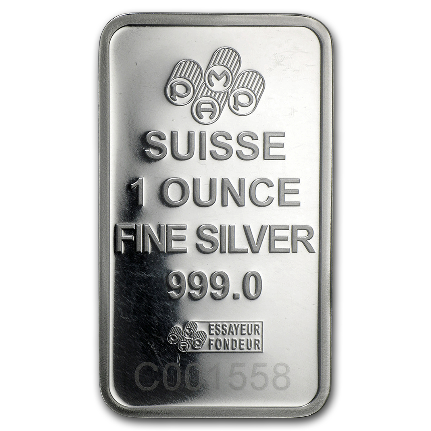 1 Oz Silver Bar Pamp Suisse Religious Series Romanesque