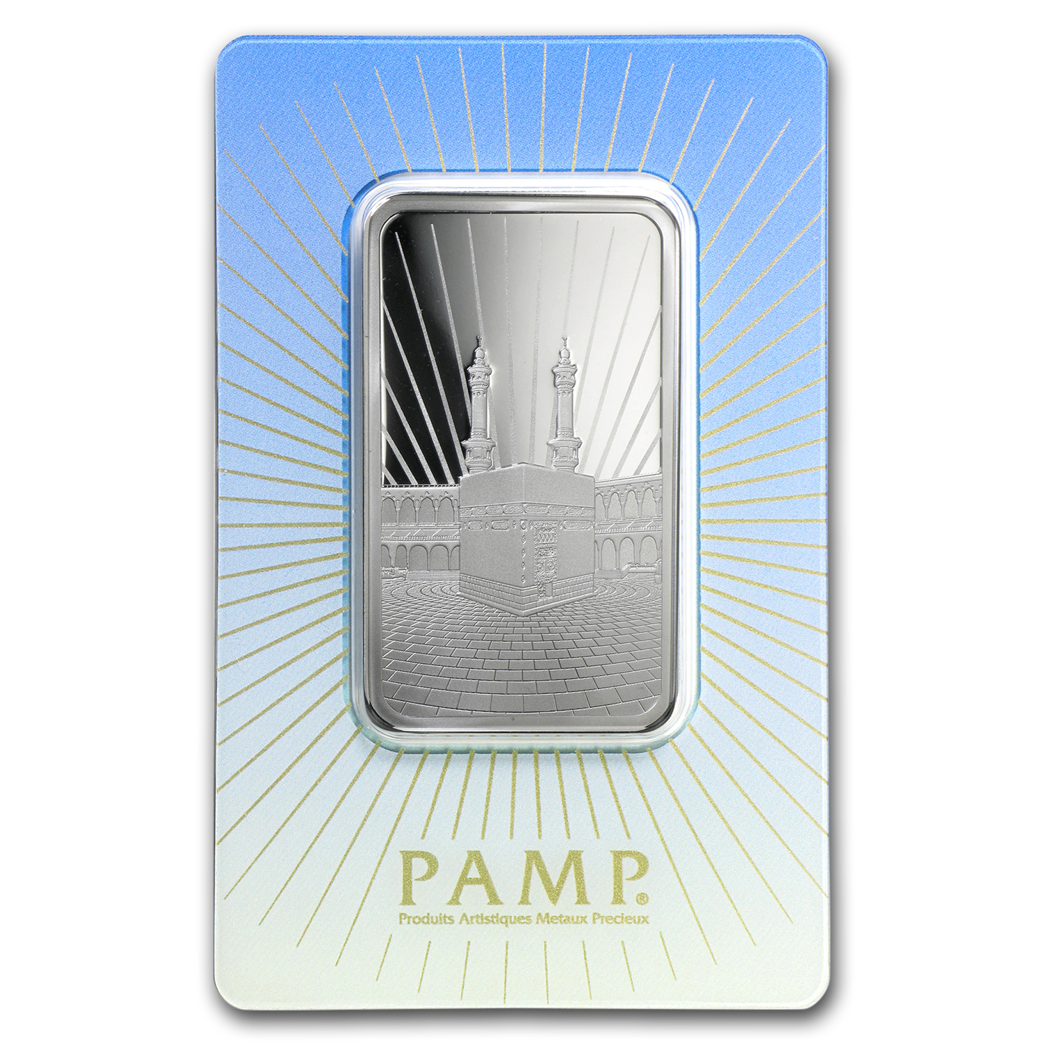 1 oz Silver Bar - PAMP Suisse Religious Series (Ka' Bah, Mecca)