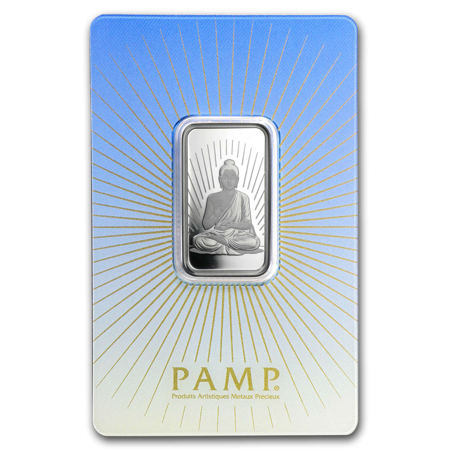 10 gram Silver Bar - PAMP Suisse Religious Series (Buddha)