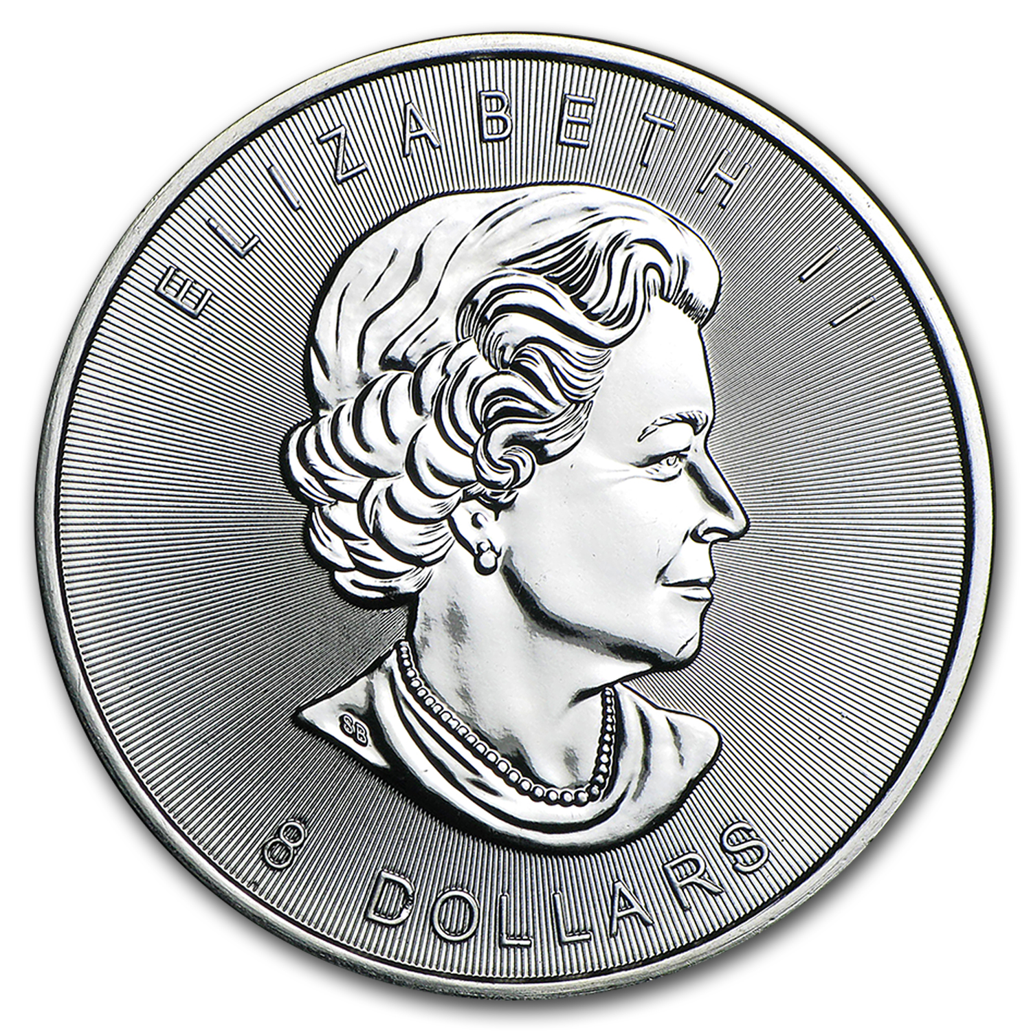 2015 Canada 1.5 oz Silver $8 SuperLeaf BU