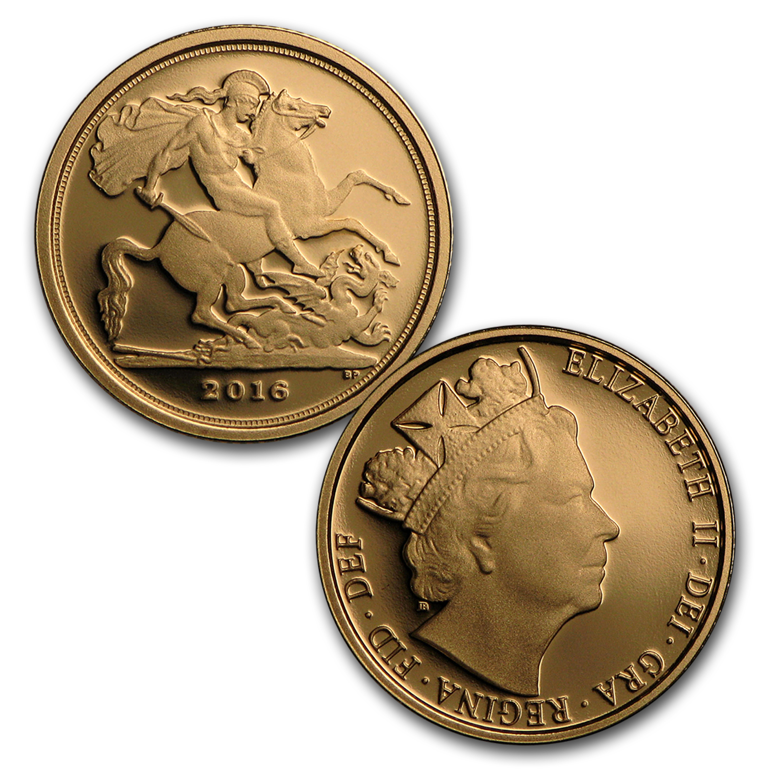 2016 Great Britain 3-Coin Gold Sovereign Premium Proof Set