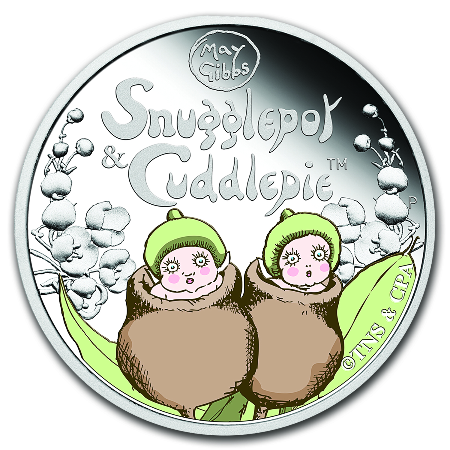 2016 Australia 1/2 oz Silver Snugglepot and Cuddlepie Proof