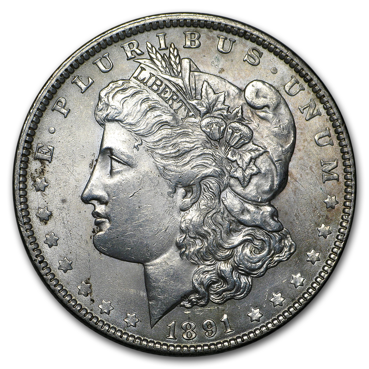 1891 Morgan Dollar AU