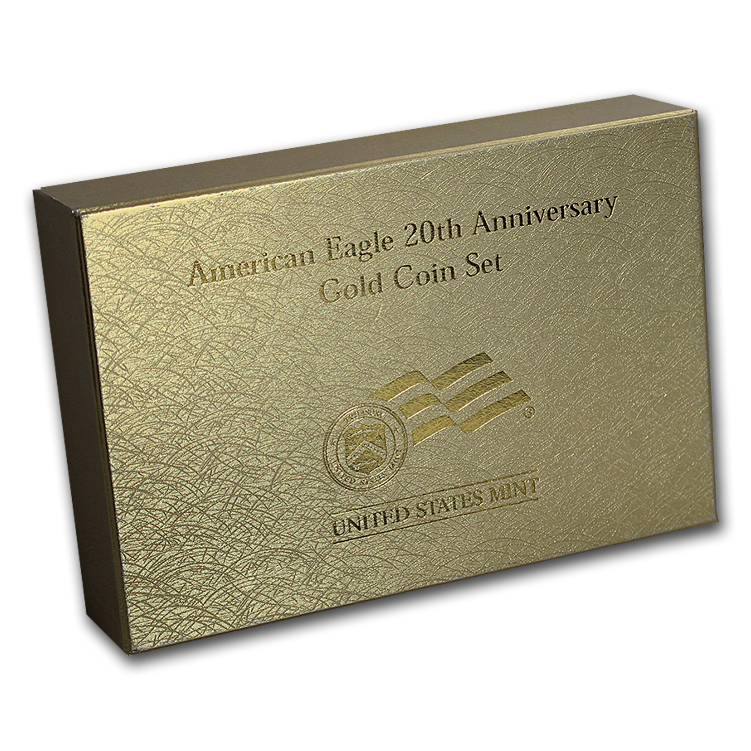OEM Box & COA - 2006 20th Anniversary 3-Coin Gold Eagle Set