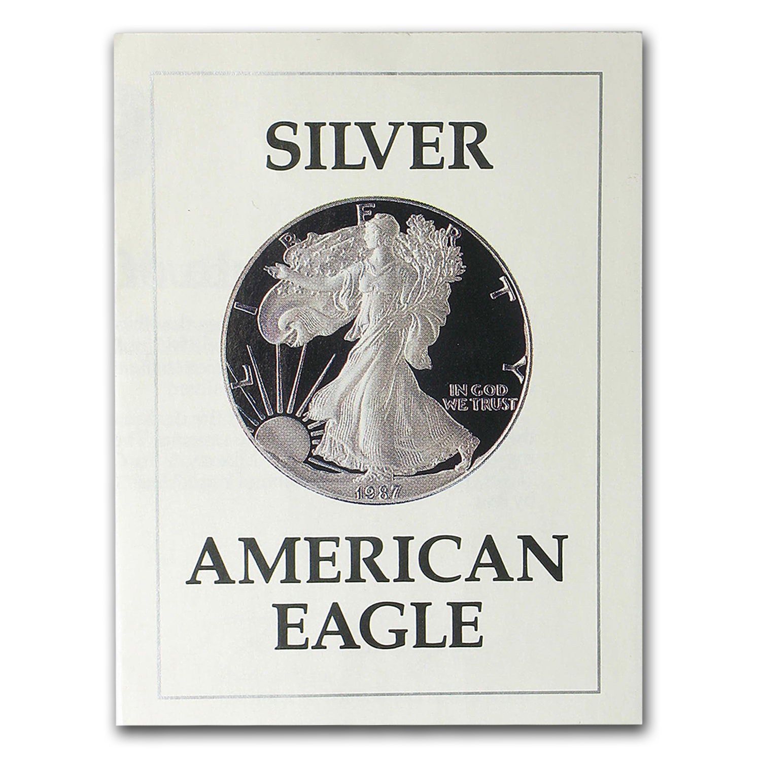COA - 1987 US Mint 1 oz Silver American Eagle (Proof)