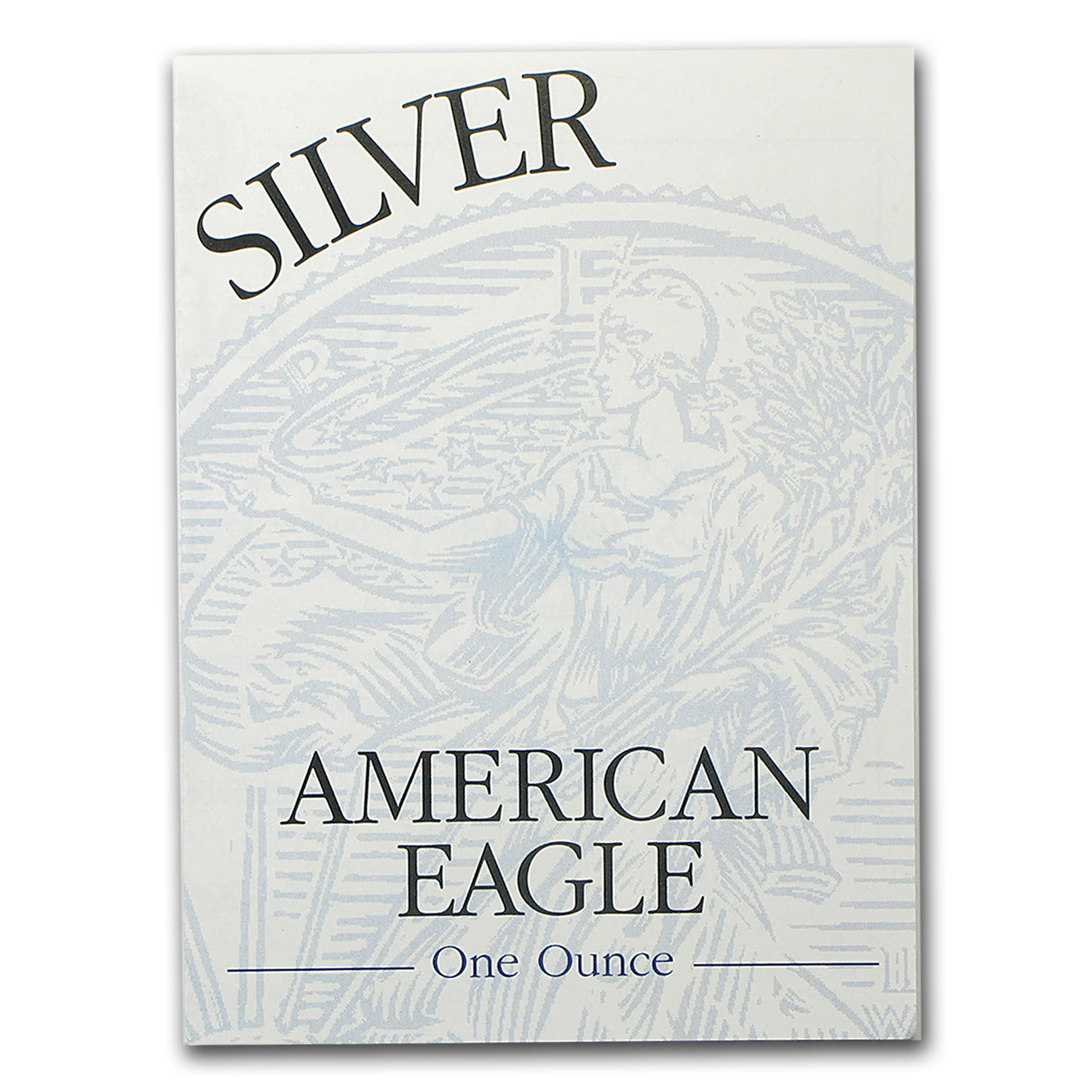 COA - 1996 US Mint 1 oz Silver American Eagle (Proof)