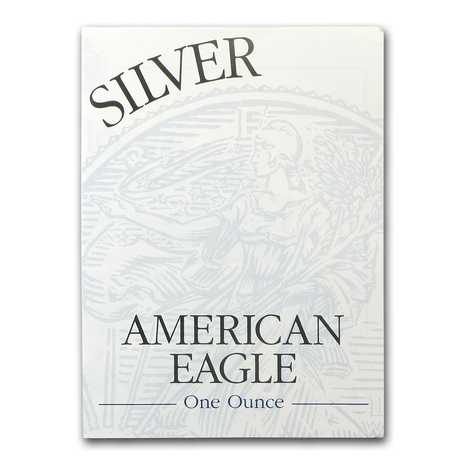 COA - 2003 US Mint 1 oz Silver American Eagle (Proof)