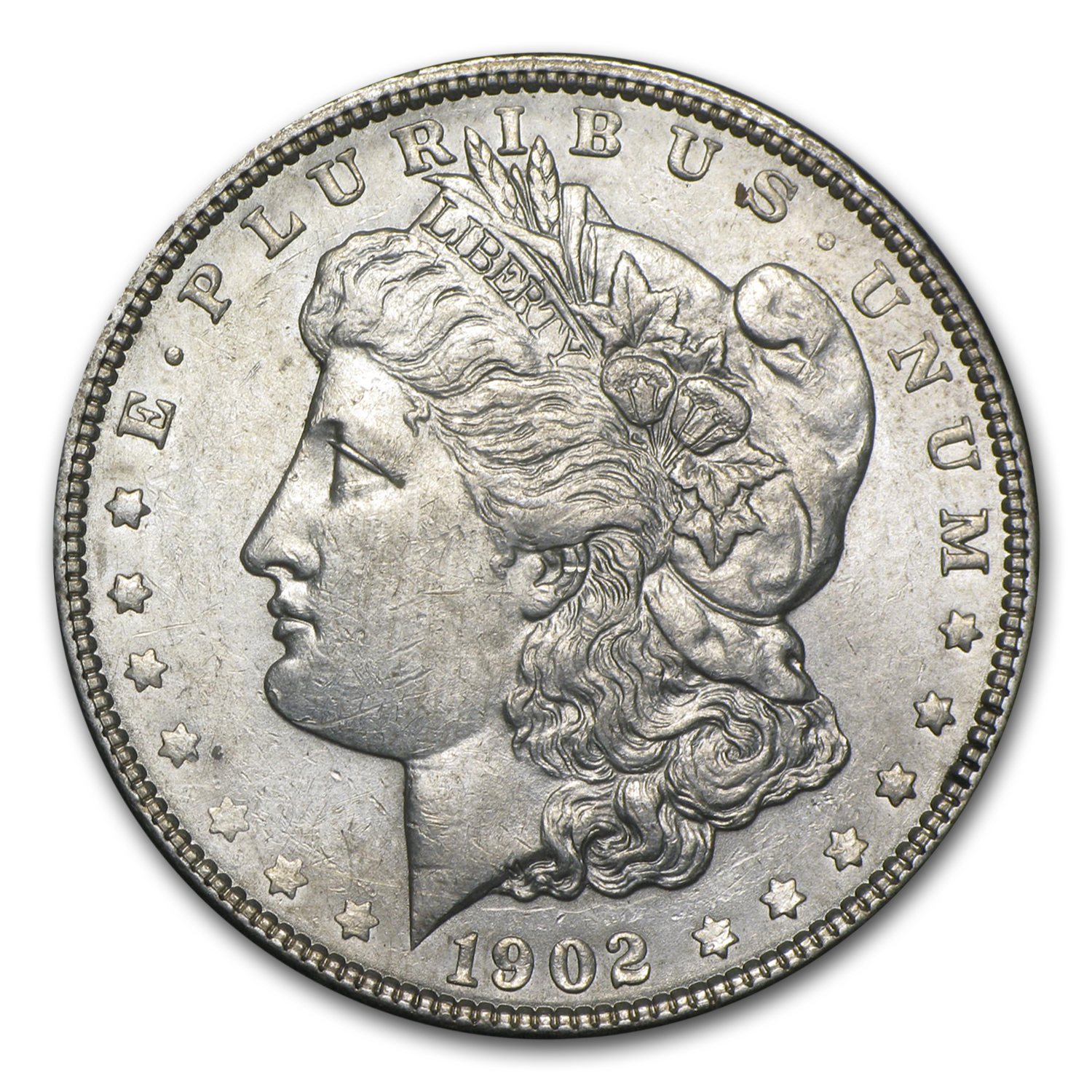 1902 Morgan Dollar AU