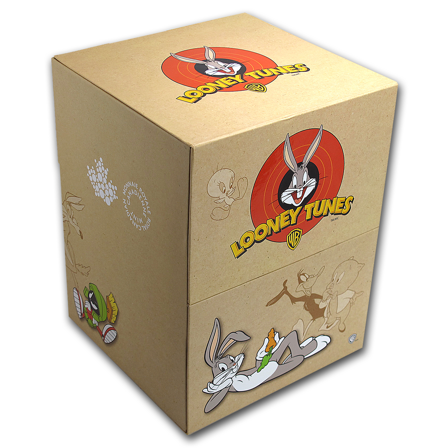 2015 Canada Looney Tunes 1/2 oz Set Box Only