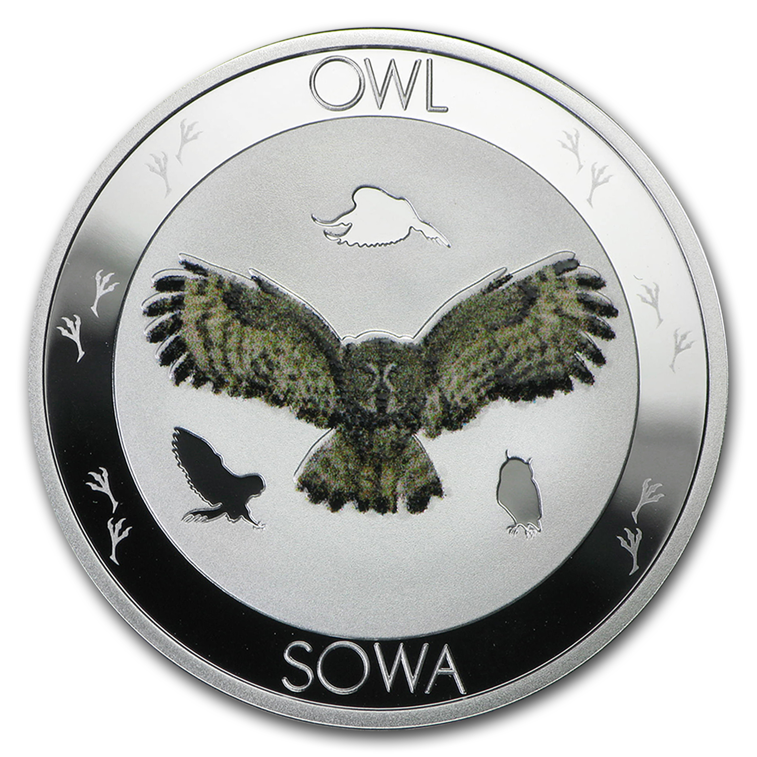 2015 Niue Silver Symbols of Nature Owl Proof