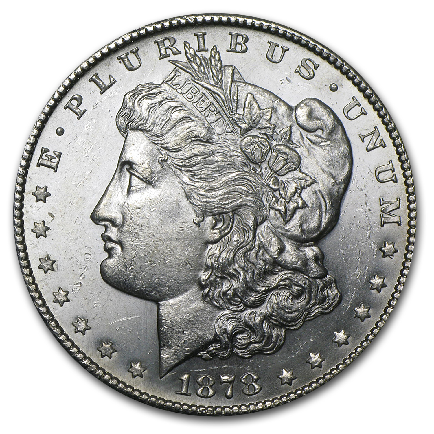 1878-S Morgan Silver Dollar BU