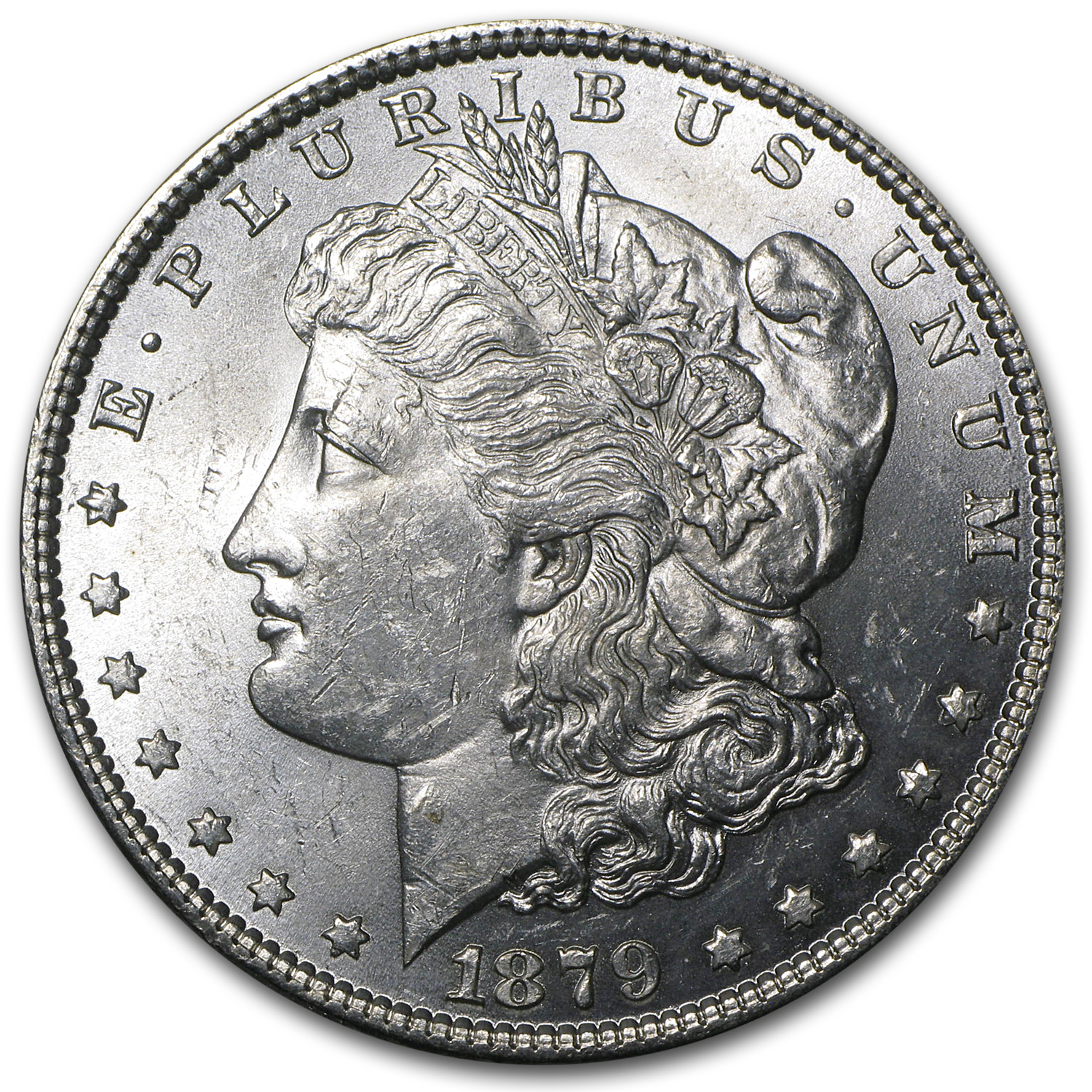 1879 Morgan Dollar - Brilliant Uncirculated