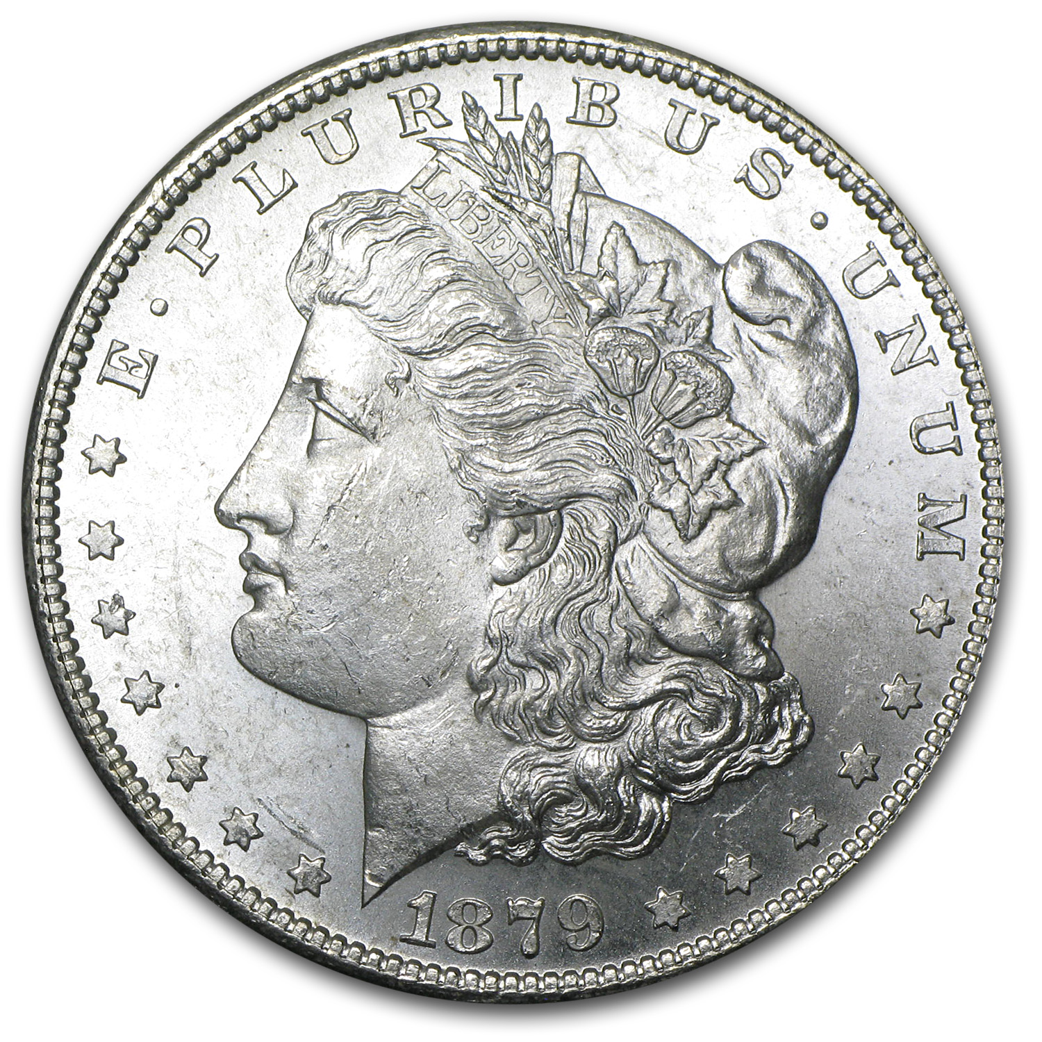 1879-S Morgan Dollar Rev of 79 BU