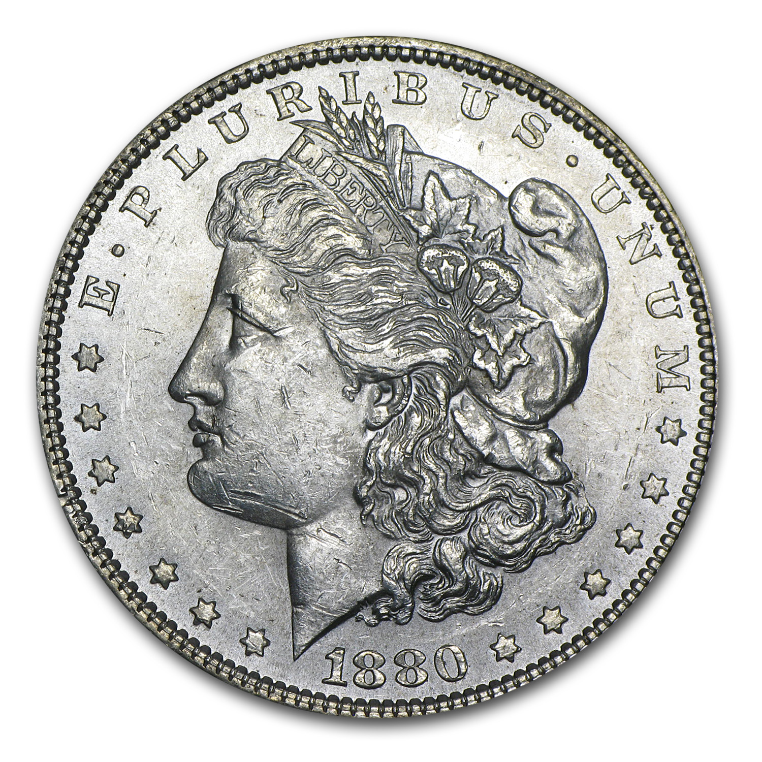 1880 Morgan Dollar - Brilliant Uncirculated
