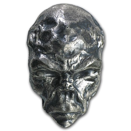 2 5 Oz Silver Alien Head Mk Barz Amp Bullion All Other