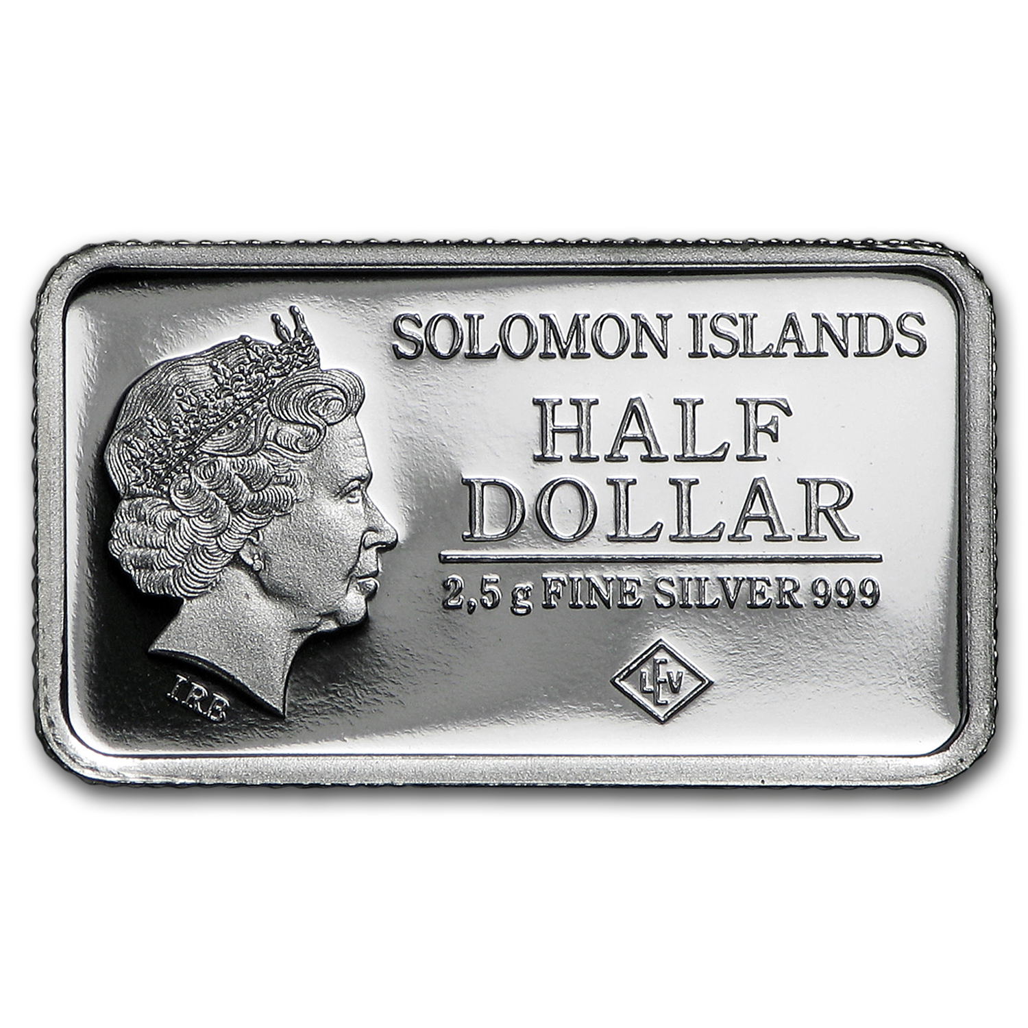 2015 Solomon Islds 2.5 gr Silver Landmarks of the World (Wash DC)