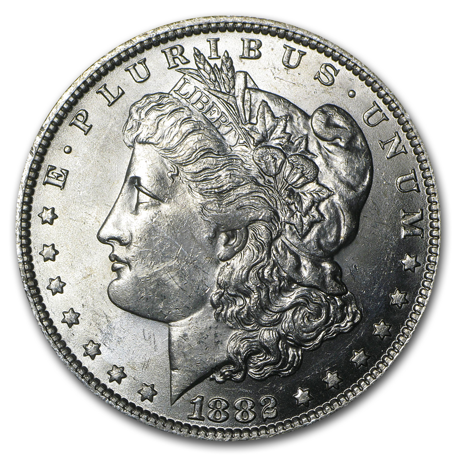 1882-O Morgan Dollar BU