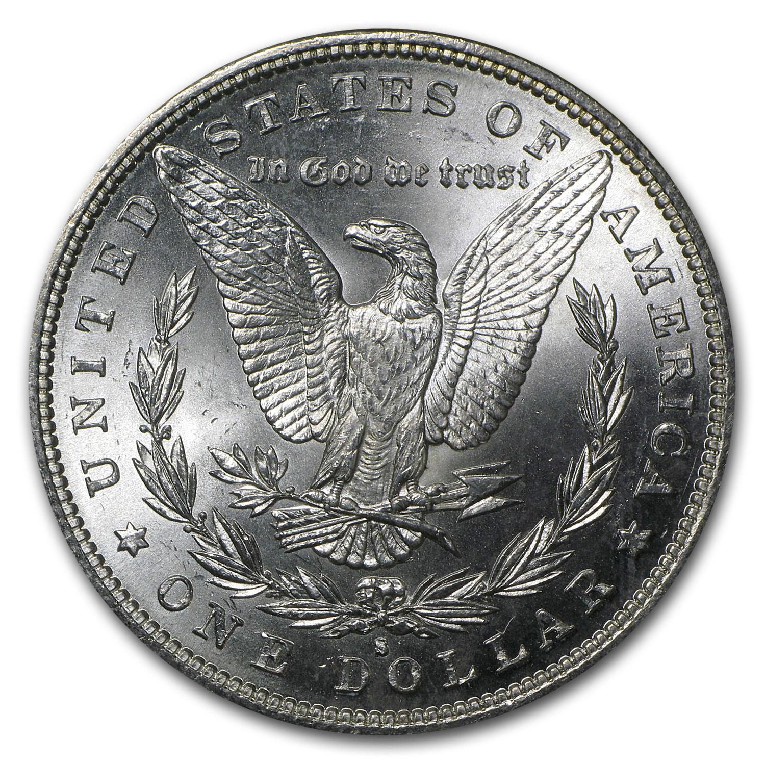 1882-S Morgan Dollar BU