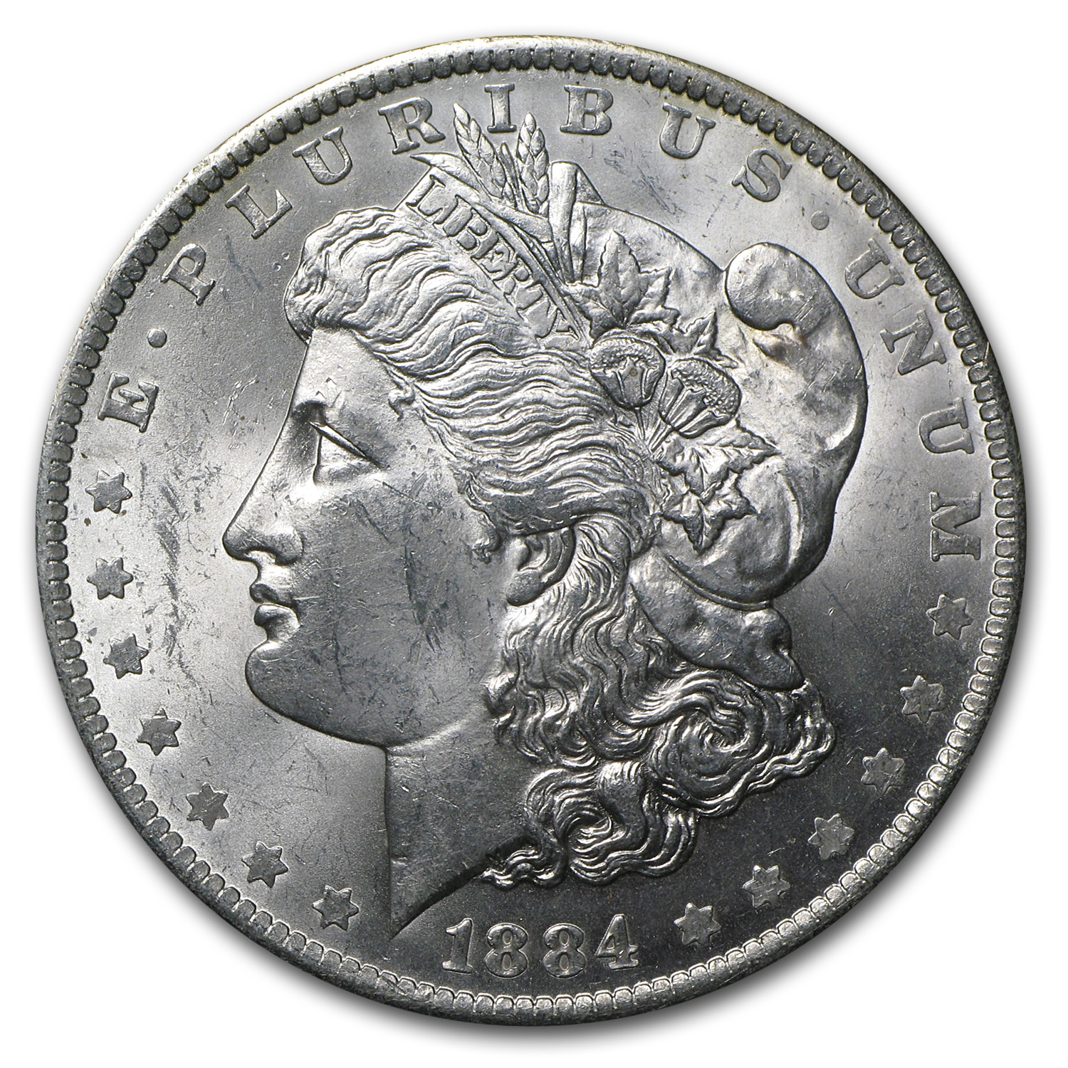 1884-O Morgan Dollar - Brilliant Uncirculated