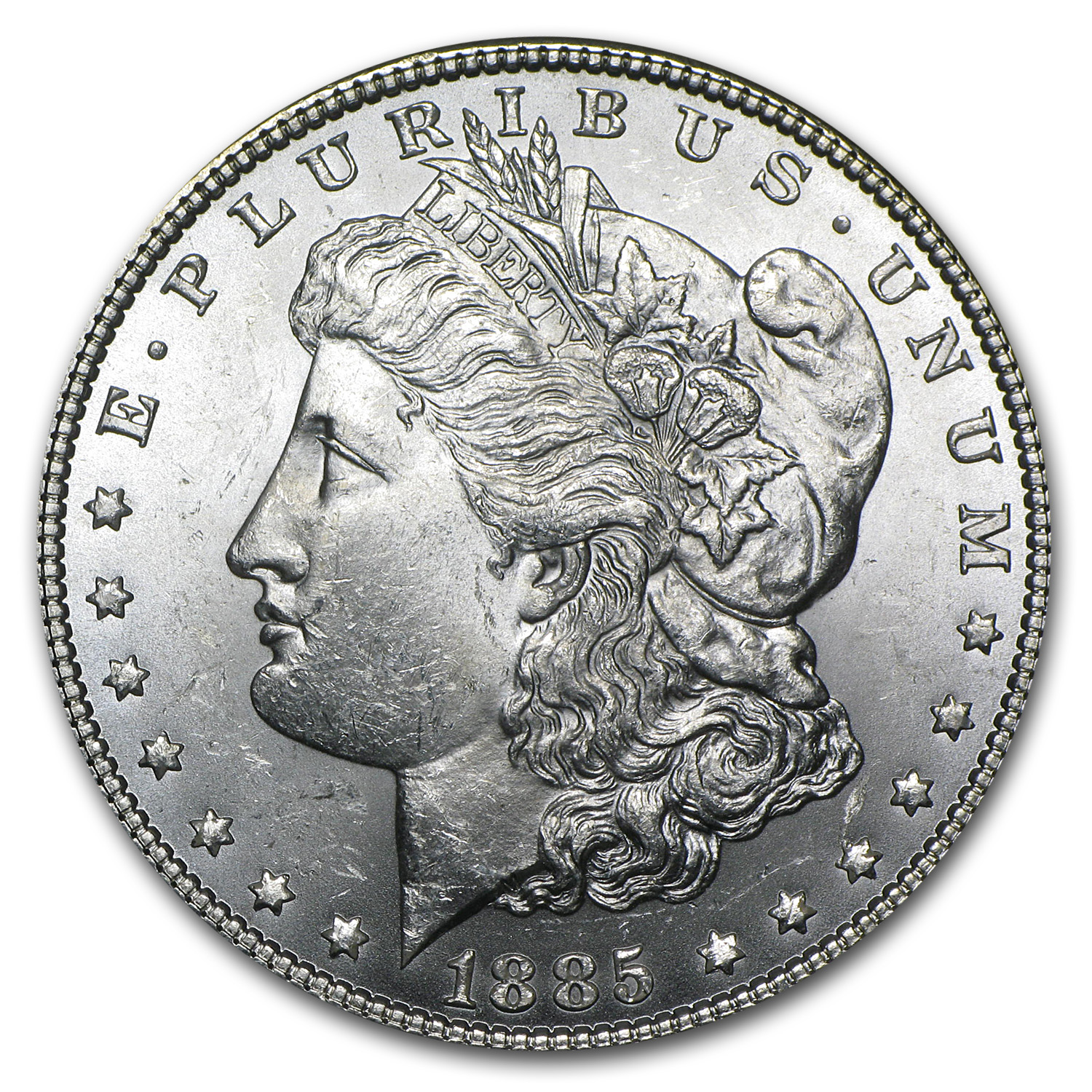 1885 Morgan Dollar - Brilliant Uncirculated
