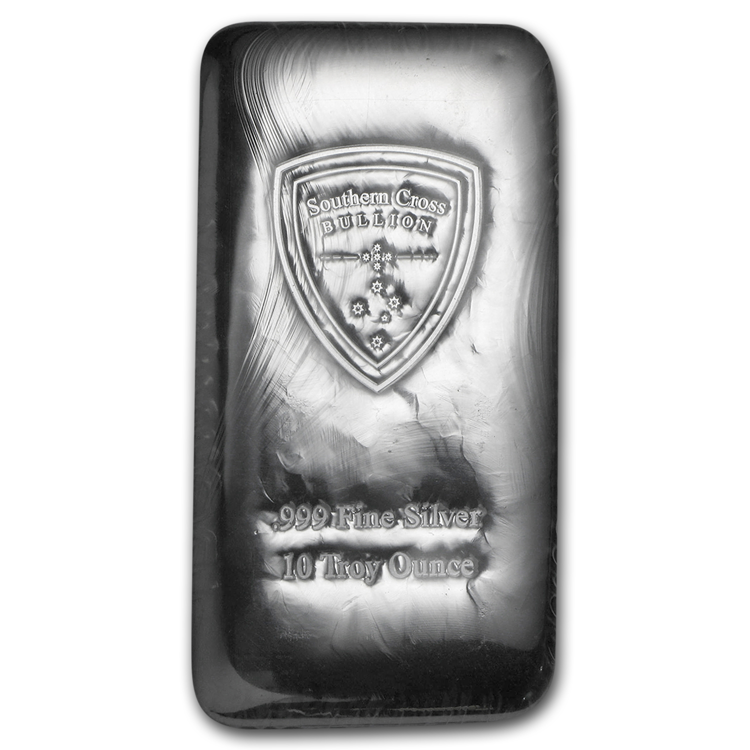 10 oz Silver Bar - Southern Cross Bullion (Cast)