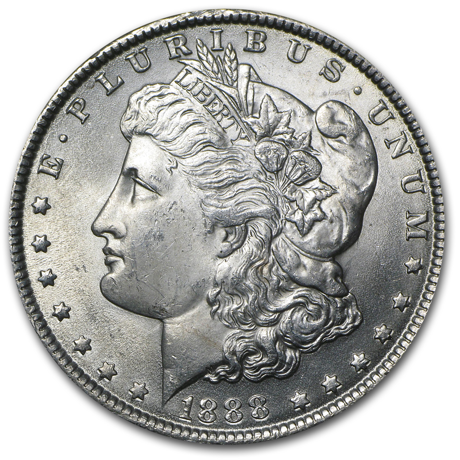 1888 Morgan Silver Dollar BU