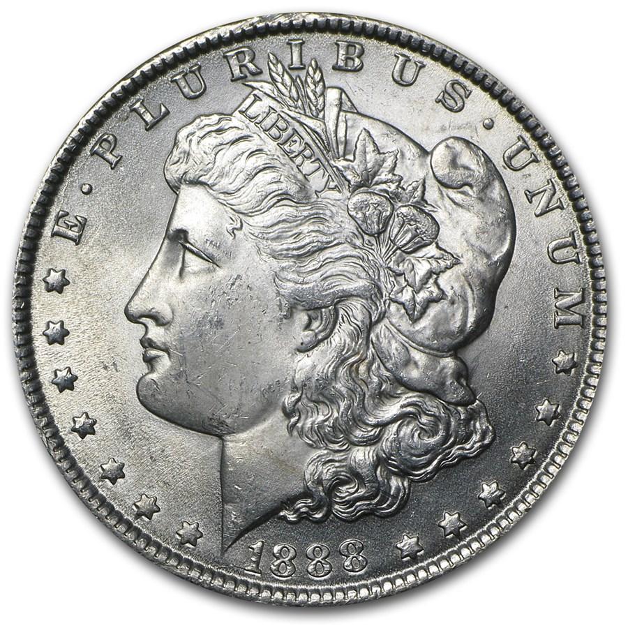 1888 Morgan Dollar Bu Morgan Dollars 1878 1904 Date