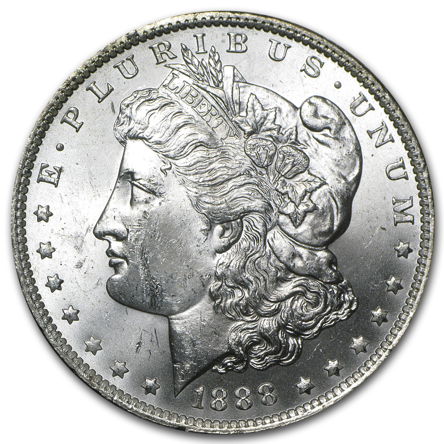 1888-O Morgan Dollar - Brilliant Uncirculated