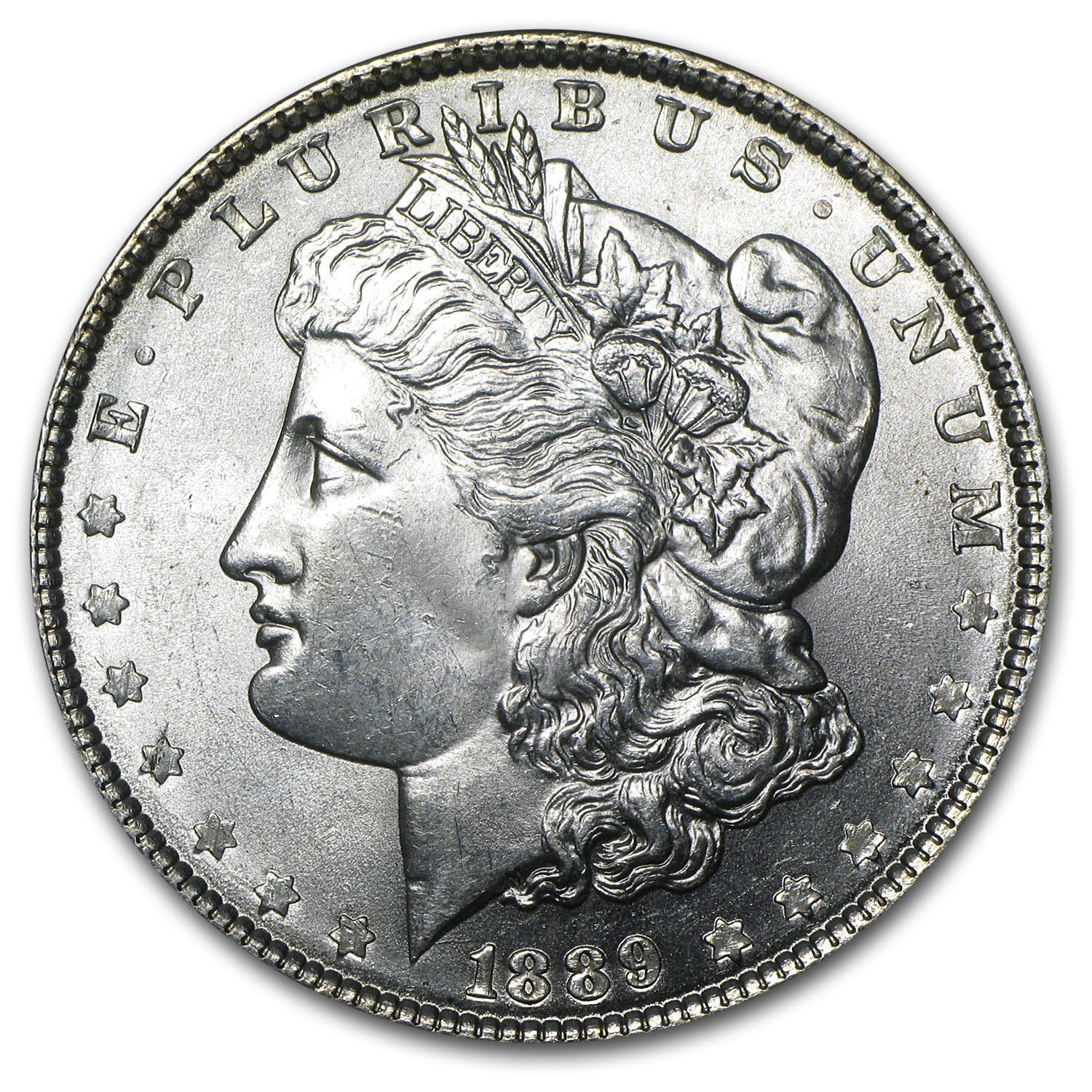 1889 Morgan Silver Dollar BU