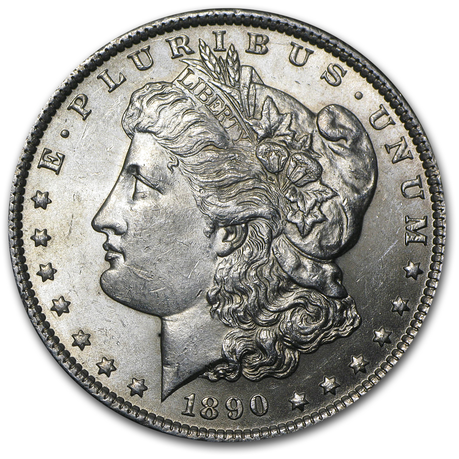1890 Morgan Dollar BU