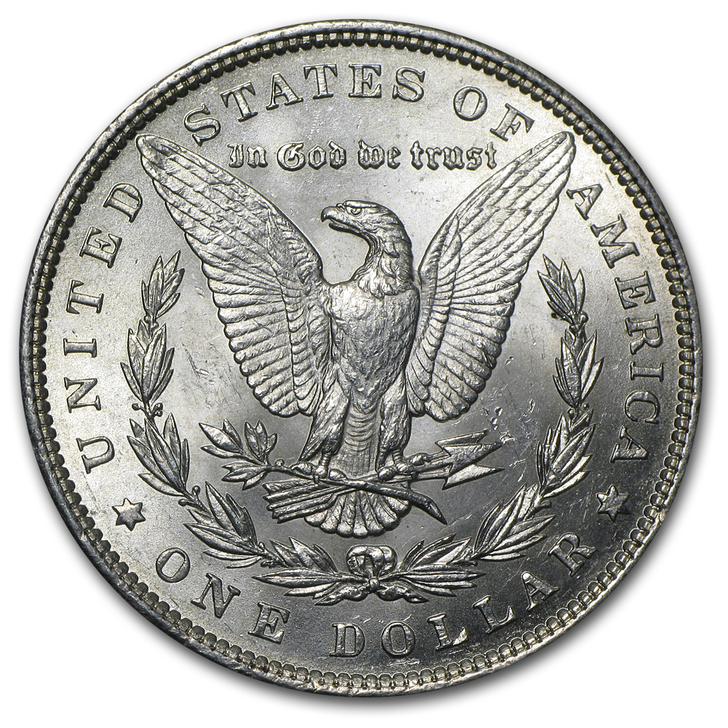 1890 Morgan Dollar - Brilliant Uncirculated