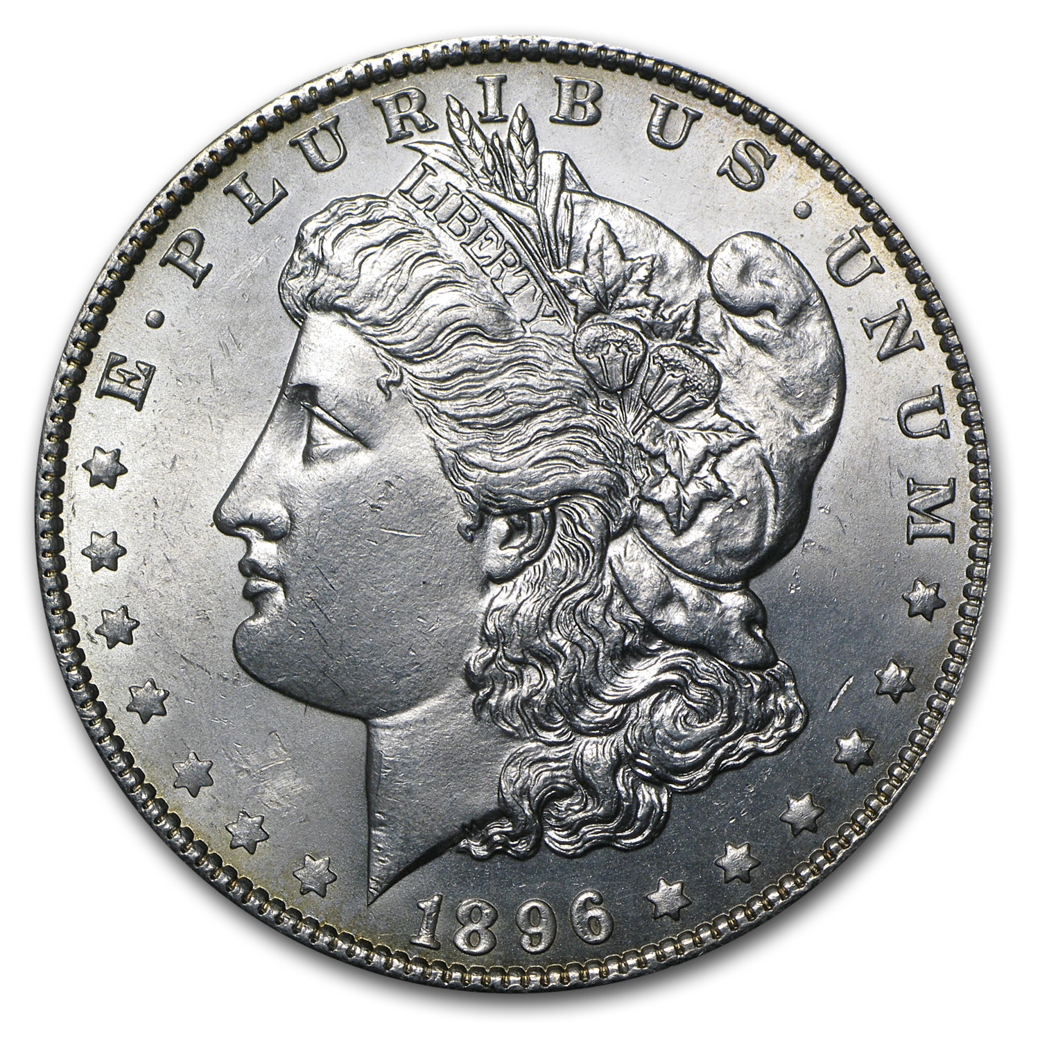 1896 Morgan Dollar - Brilliant Uncirculated