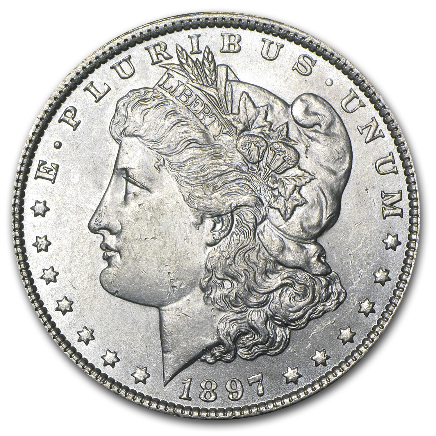 1897 Morgan Dollar BU