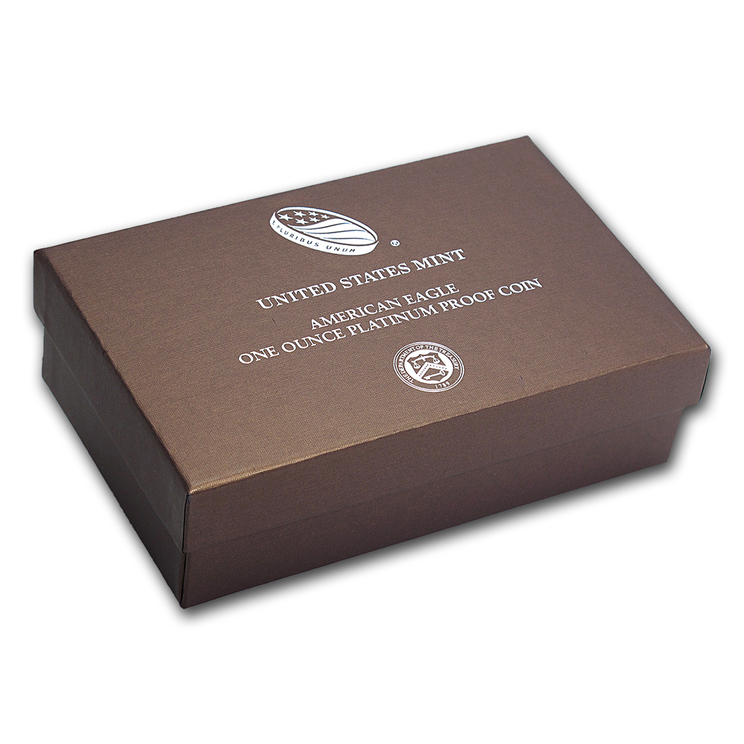 OGP Box & COA - 2015 1 oz Proof Platinum American Eagle