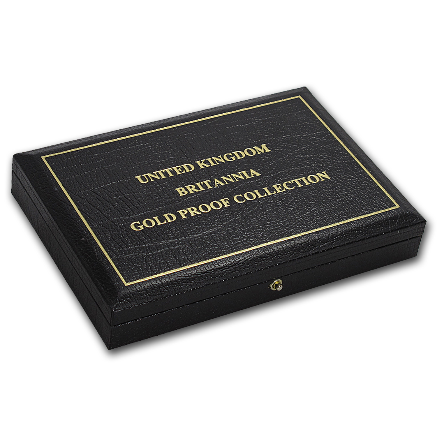 OGP Box & COA - 1991 Proof Gold Britannia 4-Coin Set