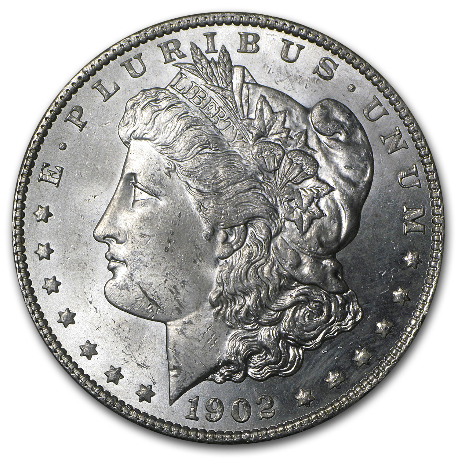 1902-O Morgan Dollar - Brilliant Uncirculated