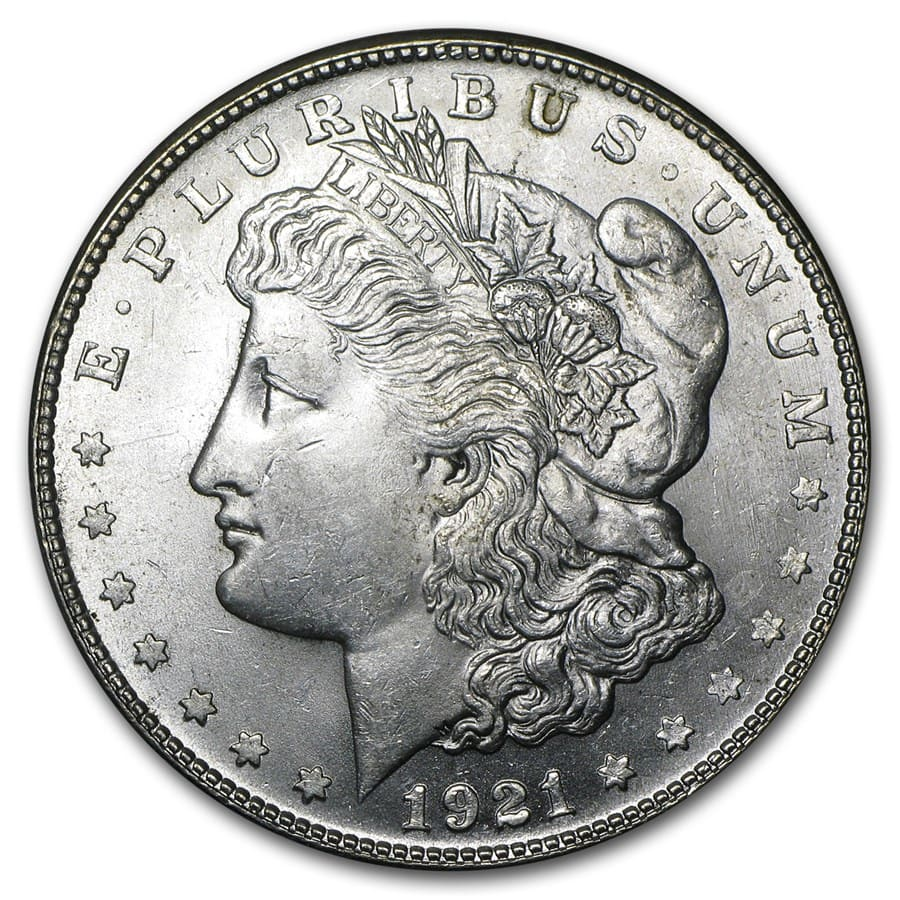 1921-S Morgan Dollar BU