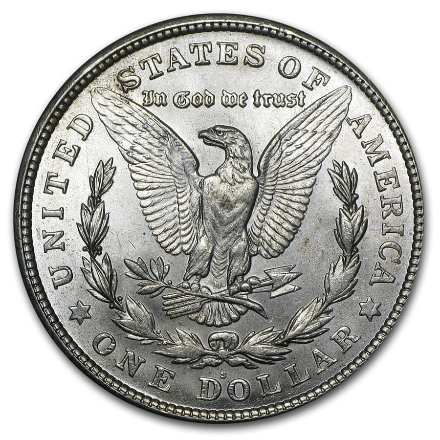 1921-S Morgan Dollar - Brilliant Uncirculated